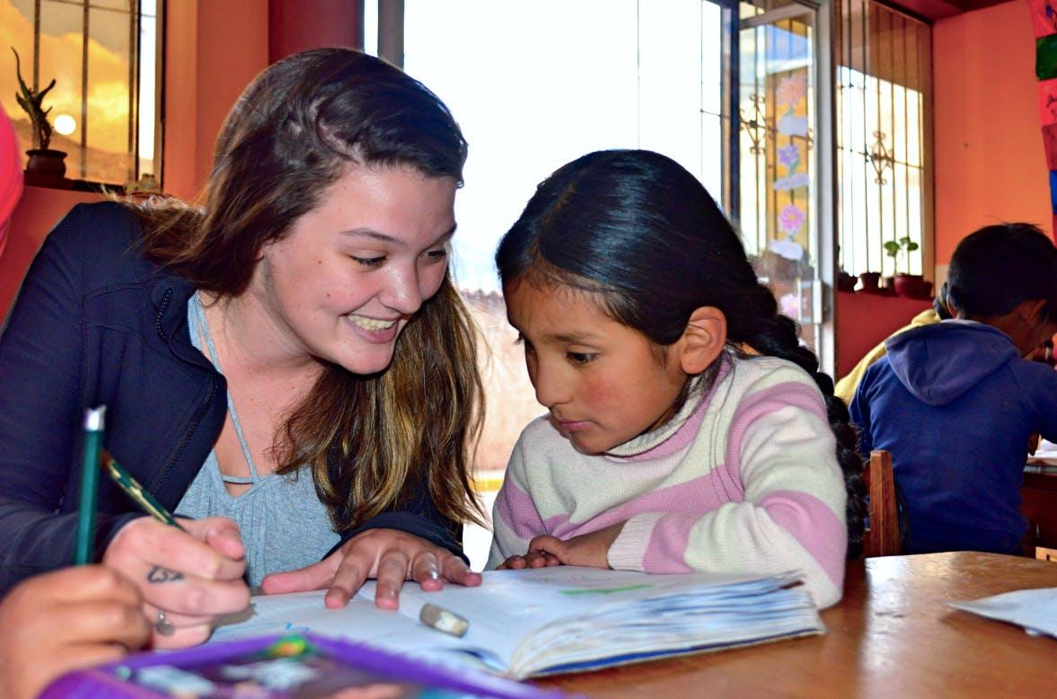 Teach English to Vulnerable Communities
