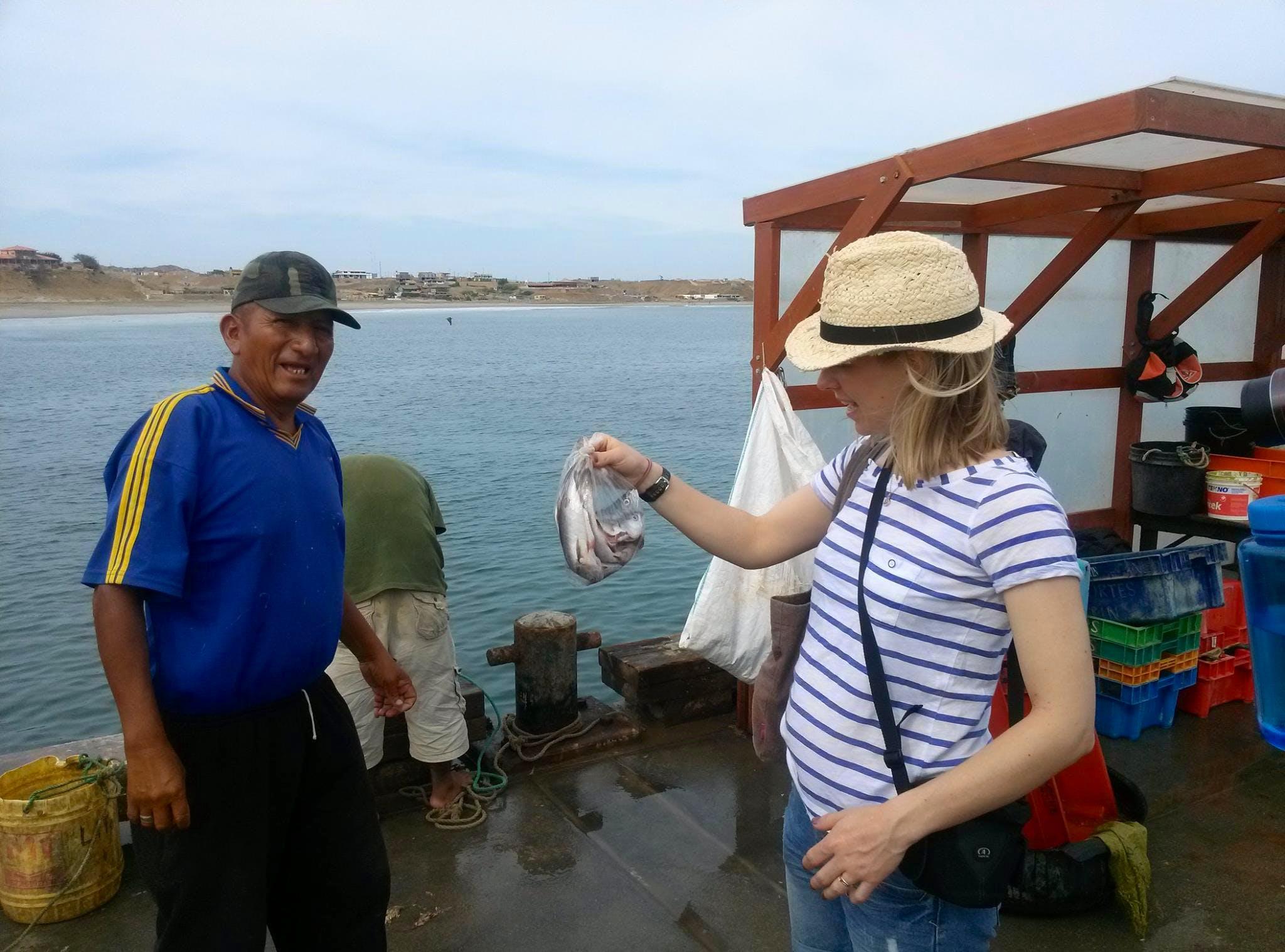 Market Researcher for Fishermen