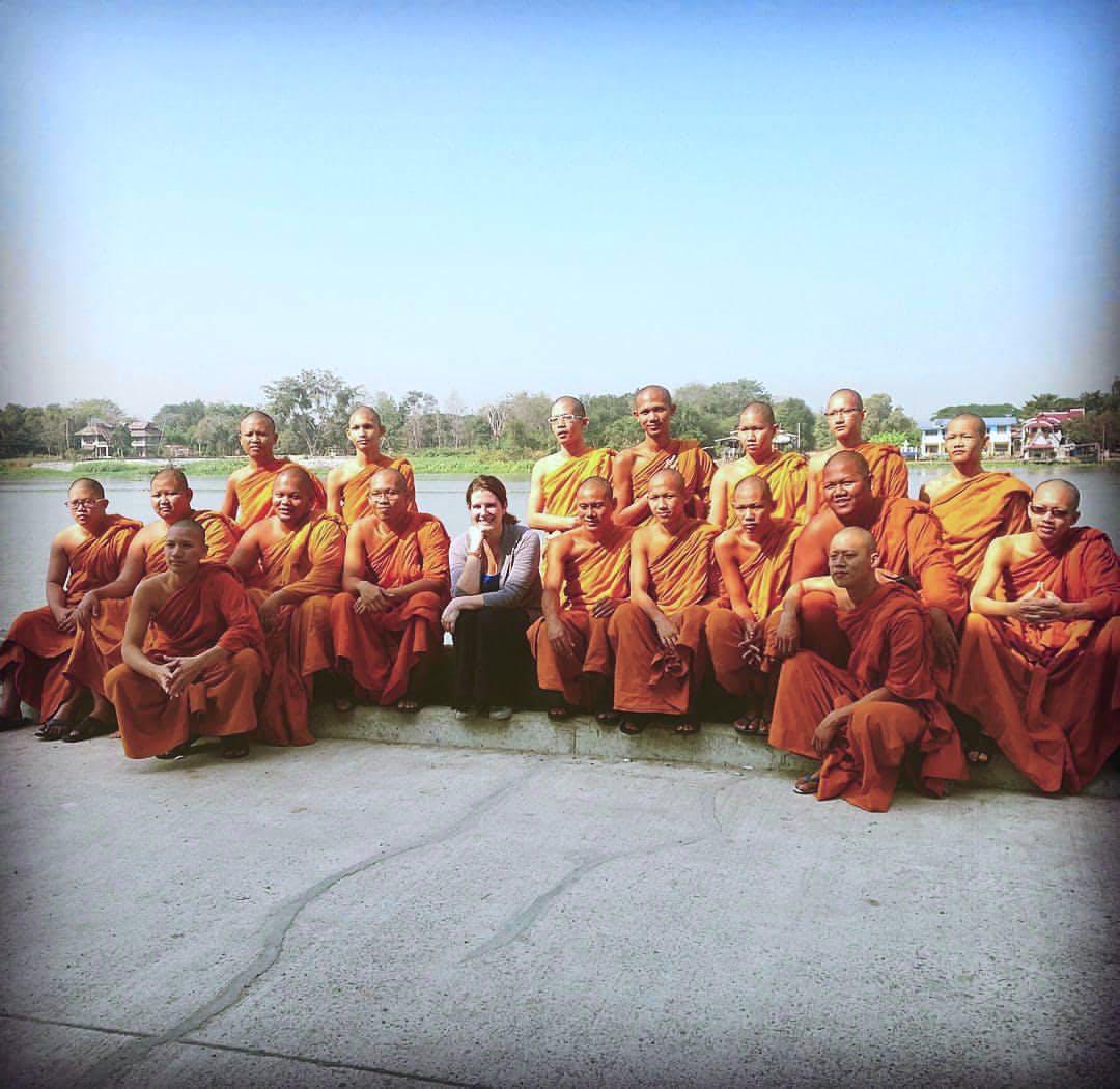 English Teaching at Monk school