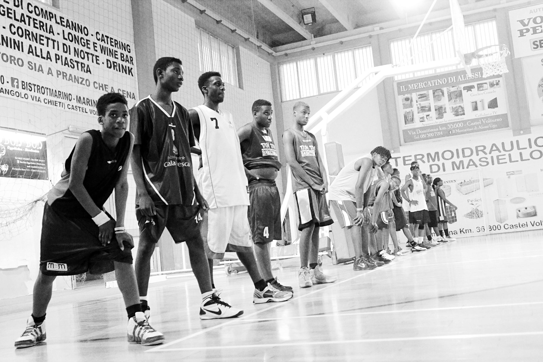 Migrants Basketball Team Coach & Assistant