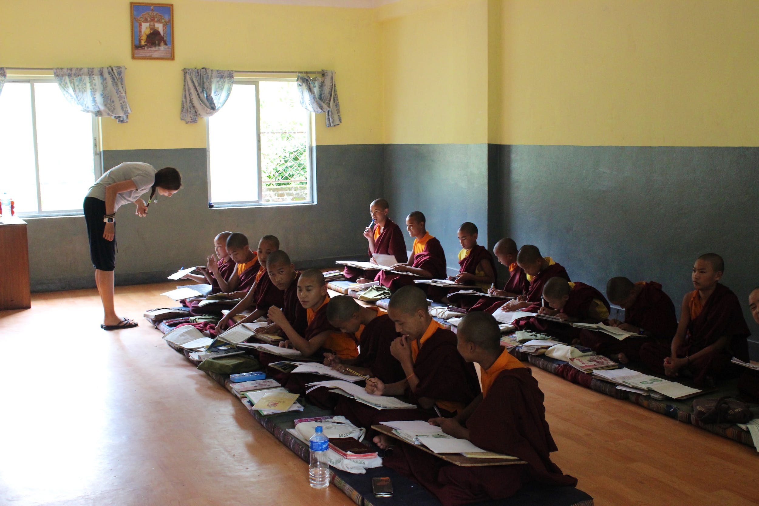 Monastery Teaching Support