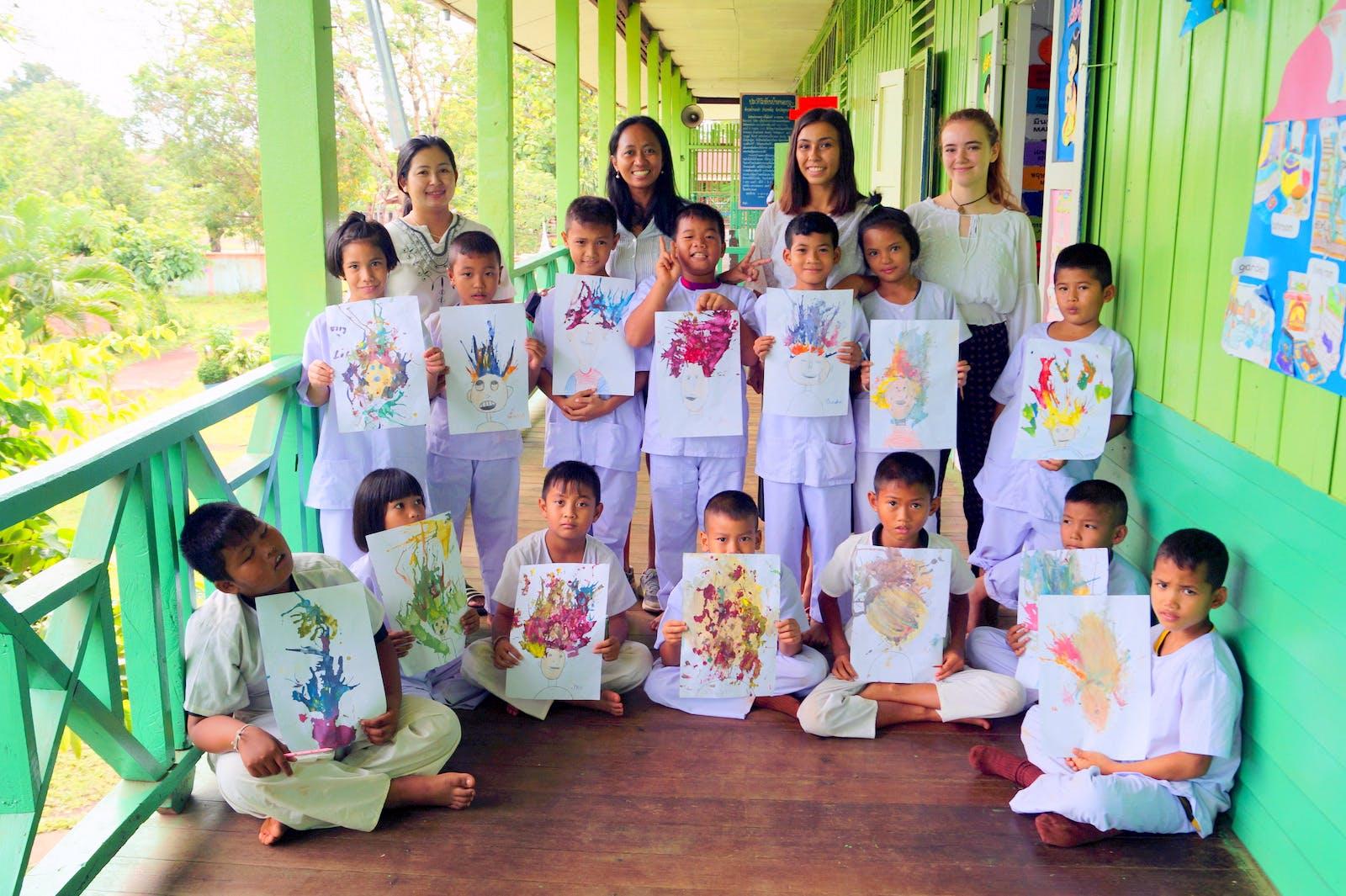 Teaching Art & Craft Classes