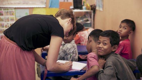 Community School English Teaching