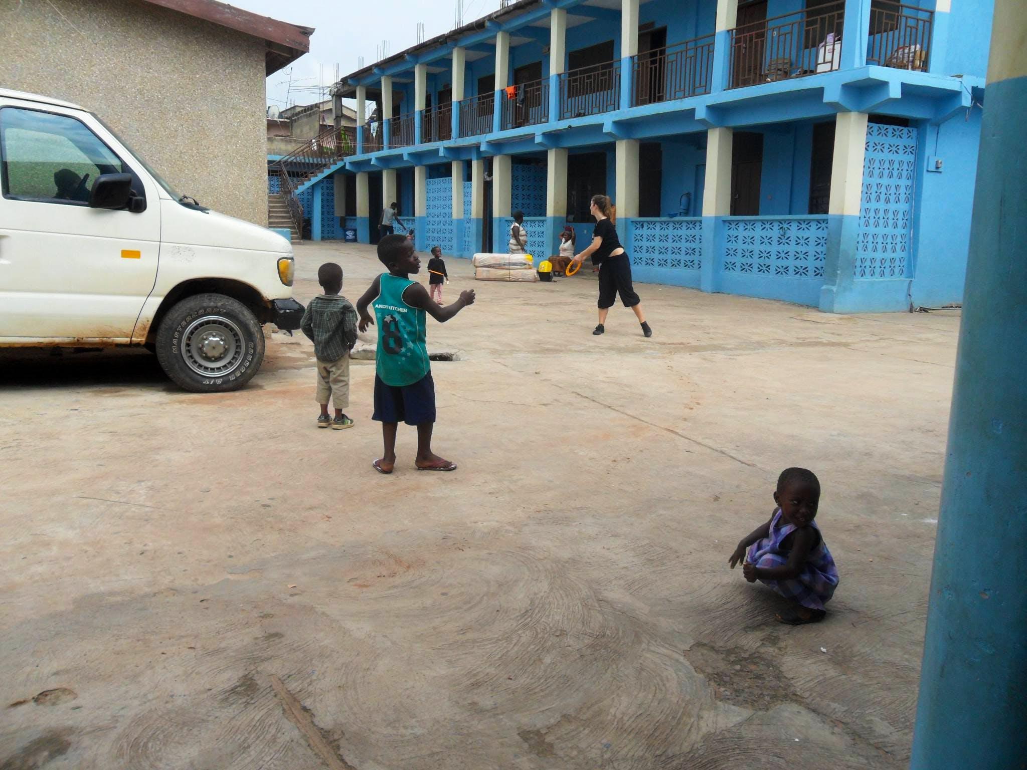 After School Coach Football to Children