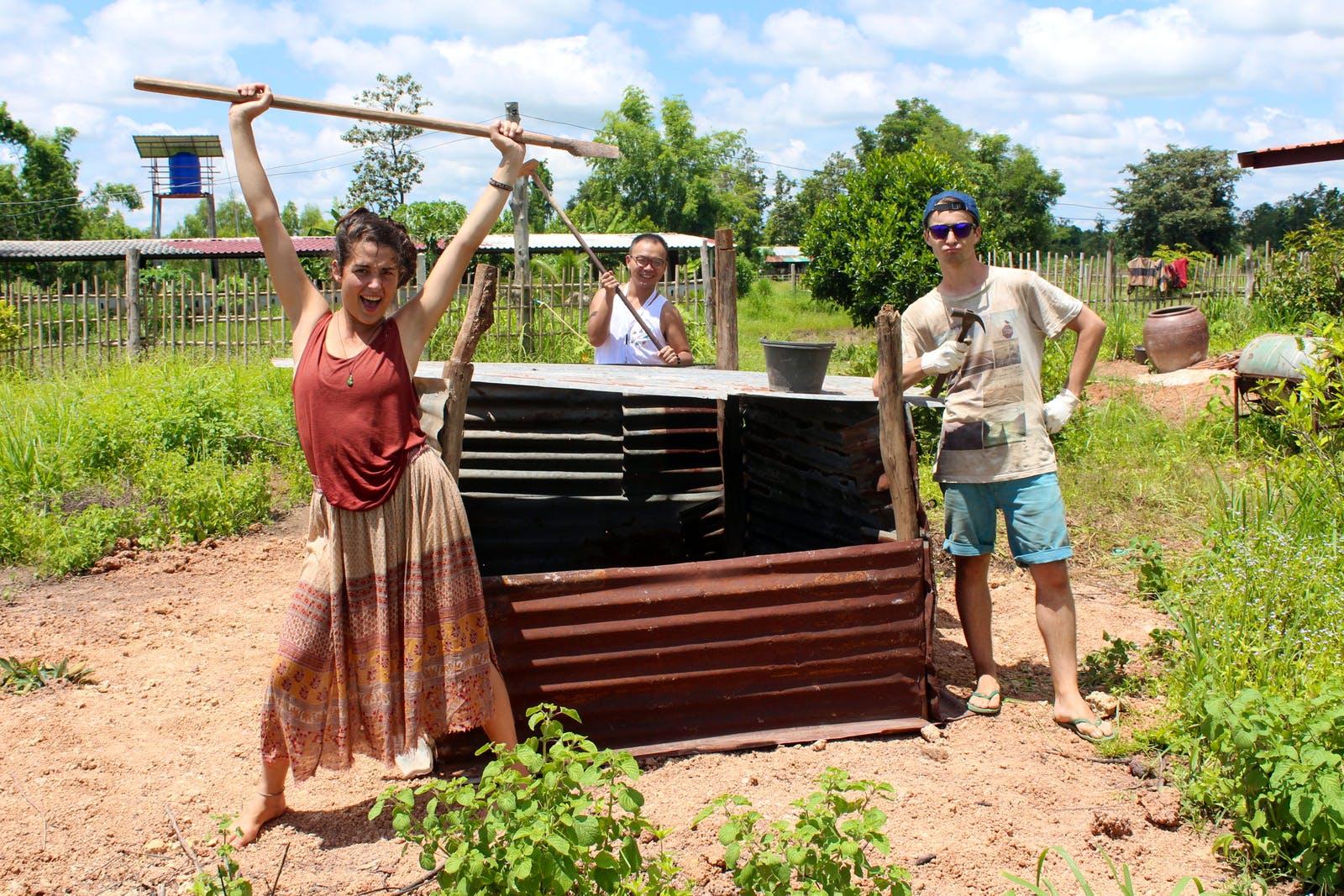 Agriculture & Construction at Thai Village