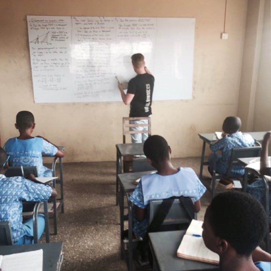 Teaching in Ghana!!!