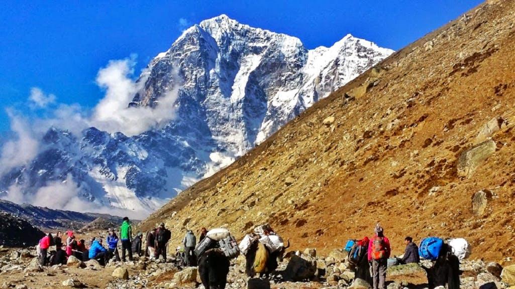 Everest Base Camp Trek & Community Support