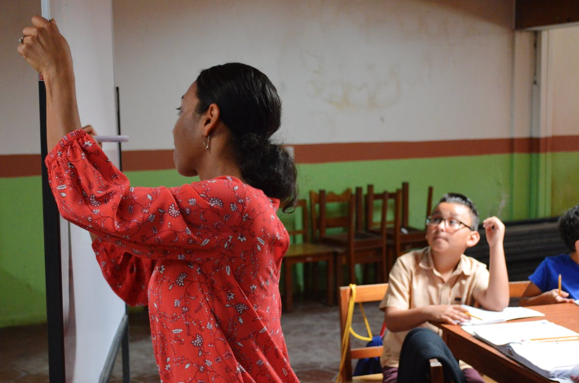 Teach English to at-risk Communities
